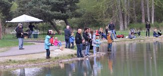 Rotary's Kids' Fishing Day at Libby Pond