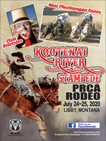 Kootenai River Stampede July 30 & 31 in Libby